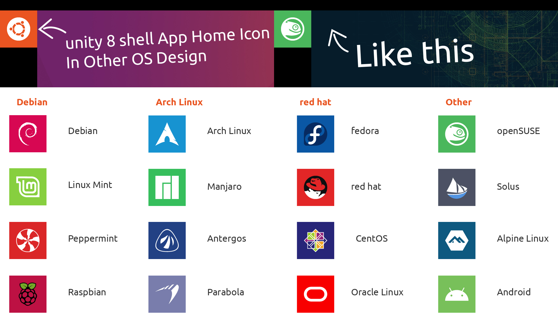 Default App Home Icon In Other OS Design | UBports Forum